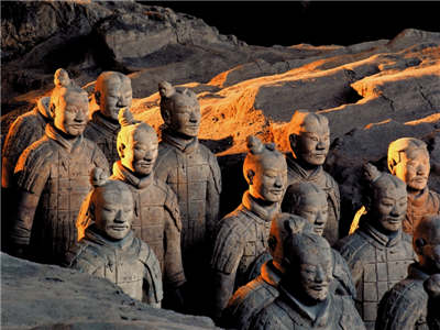 One Day Tour to Terra-Cotta Warriors-Emperor Qinshihuang Mausoleum-Banpo Neolithic Village