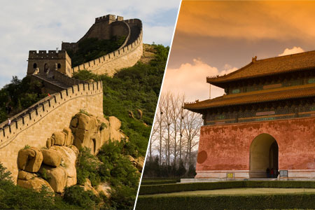 Beijing Tour Deals |Only $17 for One Day Beijing Bus Tour to Great Wall & Ming Tomb with Lunch