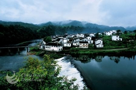 Wuyuan one day tour-beautiful villages