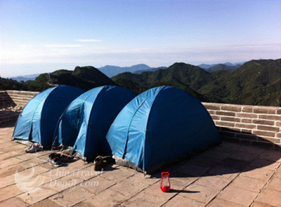 2 Days Camping and Hiking Tour on Chenjiabao Great Wall