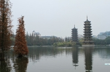 Solar & Lunar Towers - Guilin