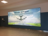 Airpot Welcome Banner