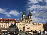 The Prague Old Town Square